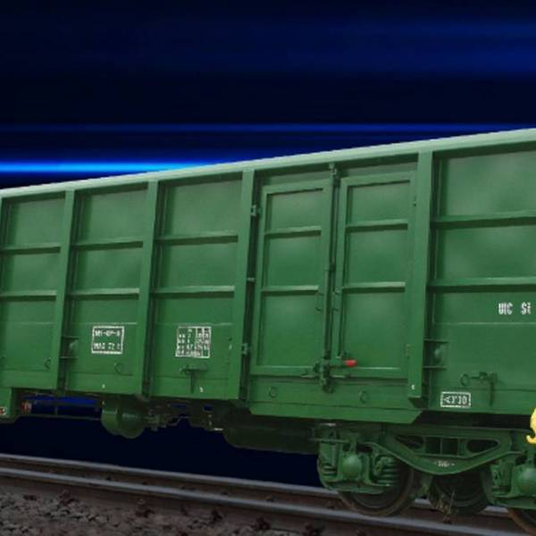 High Sided Freight Wagon
